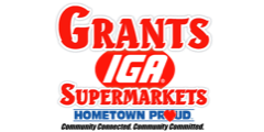 A theme logo of Grant's Supermarket